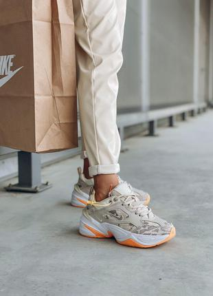 Кроссовки Nike M2k Gray Orange