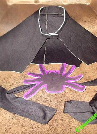 Карнавальный набор на хэллоуин -ворот и пояс с пауком