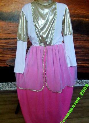 Платье на 7-10лет - цена снижена