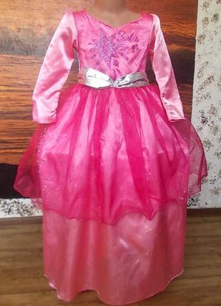 Отправить все разделы красивое платье барби на 5-7 лет рост 11...