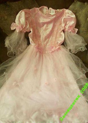 Платье на 9-10 лет очень красивое новое
