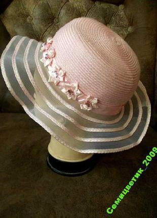 Карнавальная шляпка на 4-6 лет
