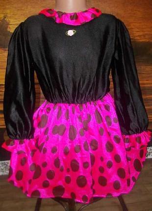 Маскарадное платье для мышки на 6-7лет