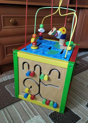 Куб развивающий для детей