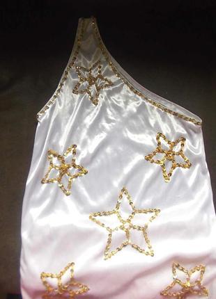 Маскарадное платье со звездами 32-36 размер