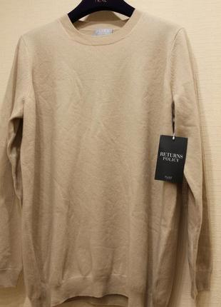 Классный кашимировый свитер pure,размер 42.