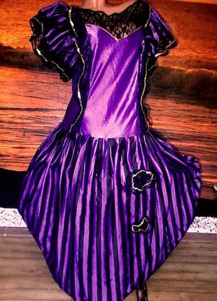 Маскарадное платье для волшебницы 52 размера