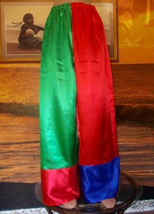 Брюки маскарадные для клоунессы 46-48 размера