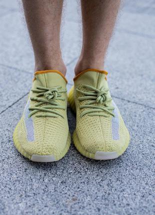 Мужские кроссовки Adidas Yeezy Boost 350 рефлективная полоска
