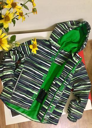 Демисезонная куртка lupilu 110-116см деми курточка германия
