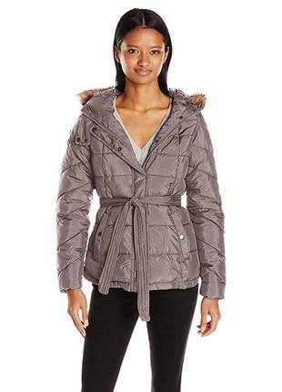 Женская куртка U.S. Polo Assn. США, с капюш (в жизни цвет темнее)