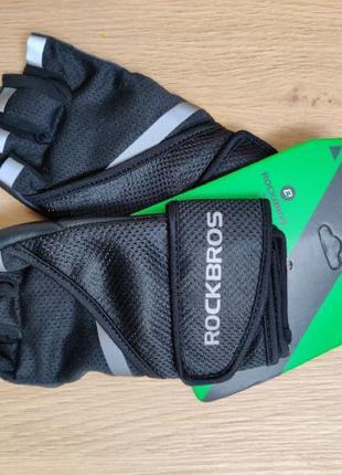 RockBros спортивные перчатки, велоперчатки женские