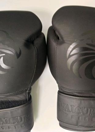 Рукавички Перчатки бокс ValourStrike Pro All Black