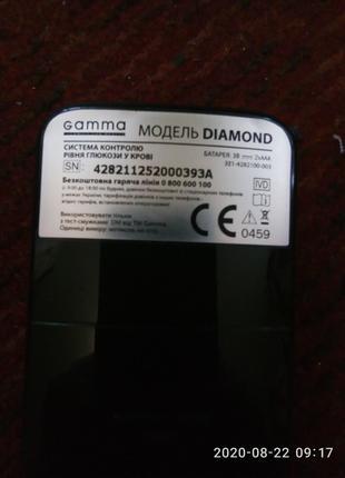 Diamond Gamma глюкометр
