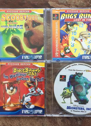 Диски игры для PlayStationOne PS1 PS One