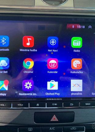 """2дин автомагнитола на VW ŠKODA SEAT Размер экрана, дюймов: 8"""" за"""
