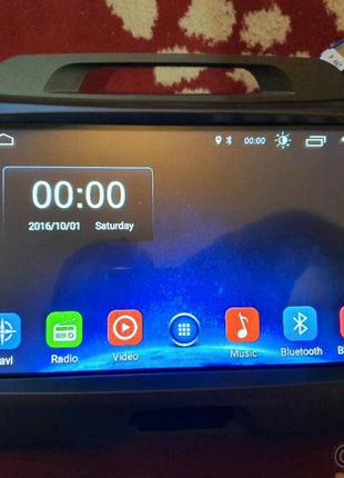 Штатная магнитола KIA Sportage III Android 8.1, USB, GPS, спортеж