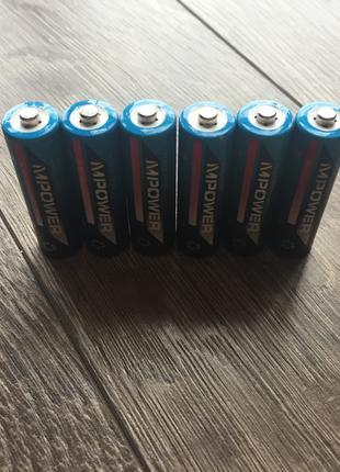 Аккумулятор Пальчиковая Батарейка MPower 700mAh