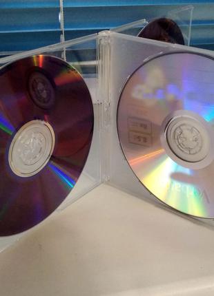 Коробки для компакт-дисков - на 4 диска