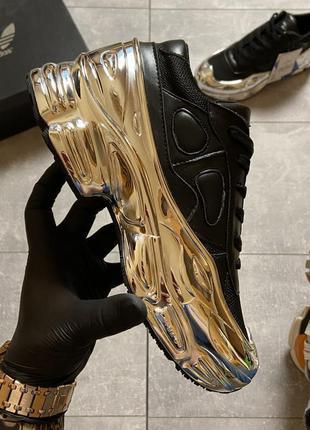 🔥 adidas raf simons ozweego core black silver metallic