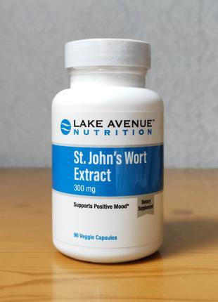 Экстракт зверобоя, 300 мг, Lake Avenue Nutrition, 90 капсул