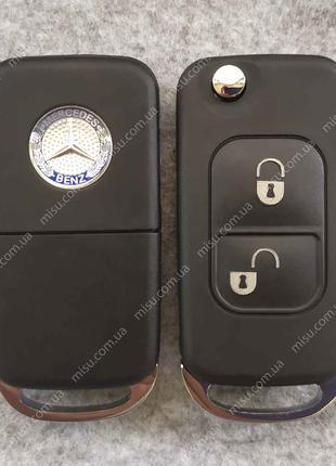 Выкидной корпус Mercedes-Benz 2 кнопки HU39