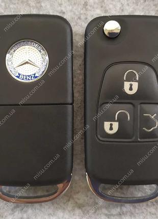 Выкидной корпус Mercedes-Benz 3 кнопки HU39