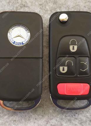Выкидной корпус Mercedes-Benz 4 кнопки HU64