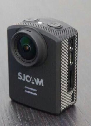SJCAM M20 новая экшн-камера + дополнительный аккумулятор и крепле