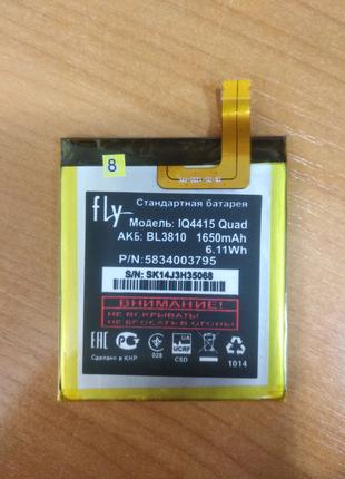 Аккумулятор батарея BL3810 fly IQ4415