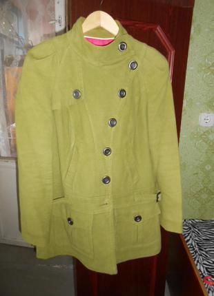 Пальто next. /хлопок/р. 48