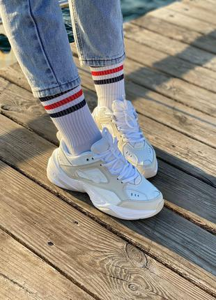 Кроссовки Nike M2k Tekno white/beige