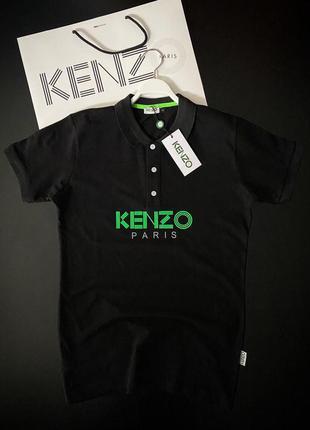 Мужская футболка - поло kenzo