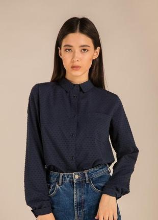 Крутая рубашка блузка сорочка из фактурной ткани