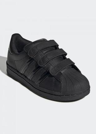 Детские кроссовки adidas superstar cf c fv3656