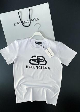 Мужская фирменная футболка в стиле balenciaga