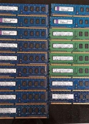 Оперативная память DDR3/DDR4 2-4-8Gb ОЗУ для ПК/RAM