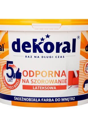 Dekoral akrylit W Декорал Акриліт W 10л миюча латексна фарба