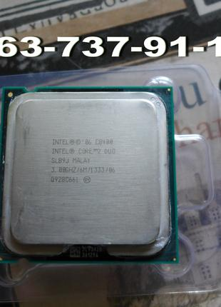 Процессор DualCore Intel Core 2 Duo E8400 сокет 775