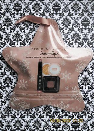 Подарочный набор sephora starry eyed : тени make up for ever ,...