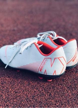 Оригинальные бутсы Nike Mercurial 36,5р.Бутси найк не adidas,puma