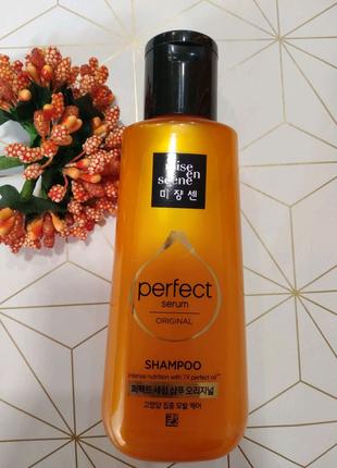 Восстанавливающий шампунь для волос «7 масел» Mise En Scene