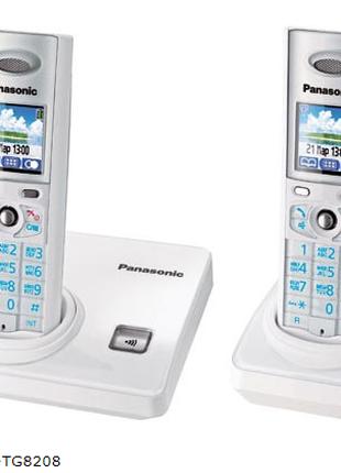 Цифровой беспроводной радиотелефон Panasonic KX-TG8208