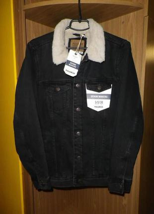 Куртка джинсовая шерпа PULL & BEAR (S)