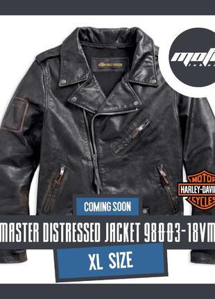 Куртка косуха Harley-Davidson Master Distressed мото