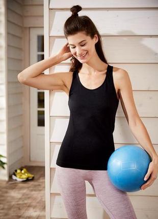 Мягусенькая майка р. 44 46 l для йоги,пилатеса, фитнеса,спорта...