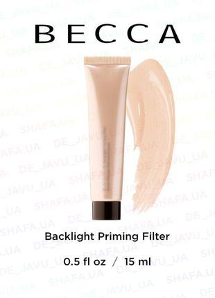 Подсвечивающий праймер (база под макияж) becca backlight primi...