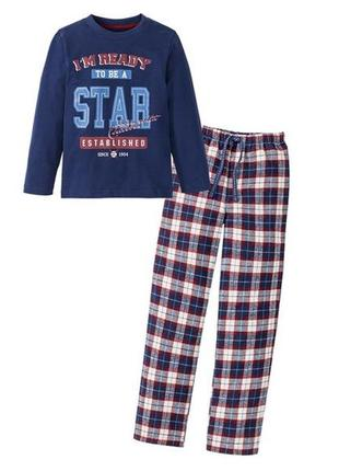 Пижама костюм для дома р.86 92 lupilu германия для мальчика