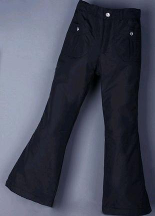 Зимние штаны,брюки на флисе для девочки