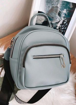 Сумка-рюкзак из эко-кожи